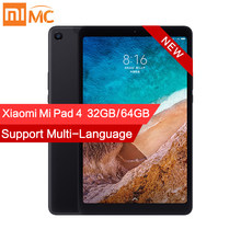 "Original Xiaomi Mi Pad 4 PC Tablet 8.0"" 1920x1200 FHD Tablets MIUI 10 Snapdragon 660 Octa Core Dual WiFi 13MP+5MP Camera 6000mAh(China)"
