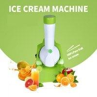 2017 New Design Fruit Ice Cream Machine Electric Ice Cream Maker To Make Soft Ice Cream