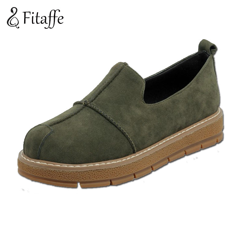 FITAFFE Women Flat Platform Loafers Shoes 2017 Brand Women Casual Waterproof Shoes For Ladies Fashion Flats Shoes Women AI053 7ipupas hot selling fashion women shoes women casual shoes comfortable damping eva soles flat platform shoe for all season flats