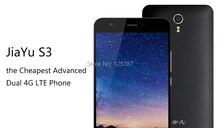 Envío Libre de DHL JiaYu S3 4G LTE FDD Móvil MTK6753 Octa Core Android 5.1 5.5 Pulgadas 1920X1080 3 GB RAM 16 GB ROM 13.0MP NFC