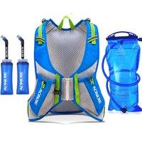 AONIJIE Men Women Outdoor Sports Lightweight Running 8L Backpack Marathon Cycling Hiking Water bag Backpack equipment