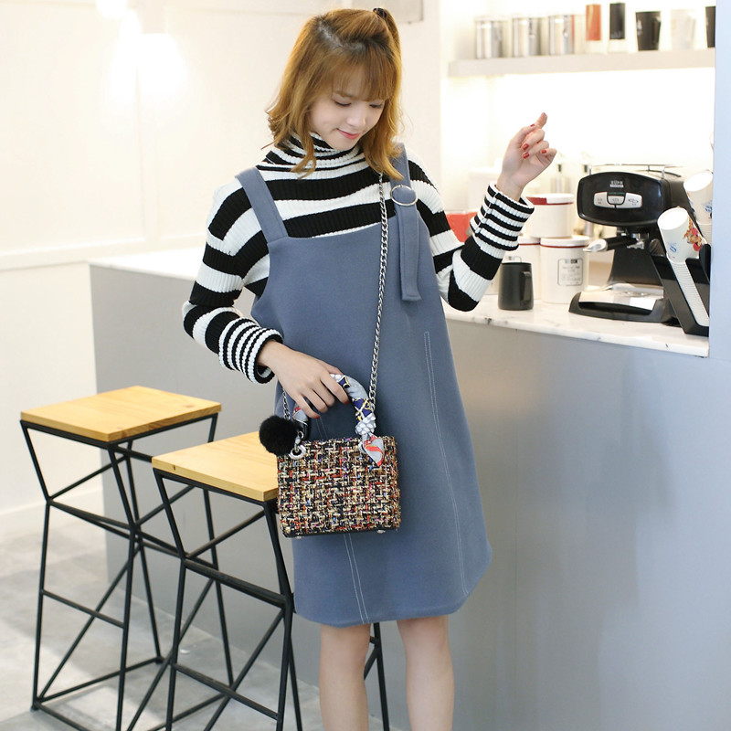 ICEV high quality patchwork wool weave women messenger bag ladies leather chain crossbody clutch quilted linen shoulder hand bag
