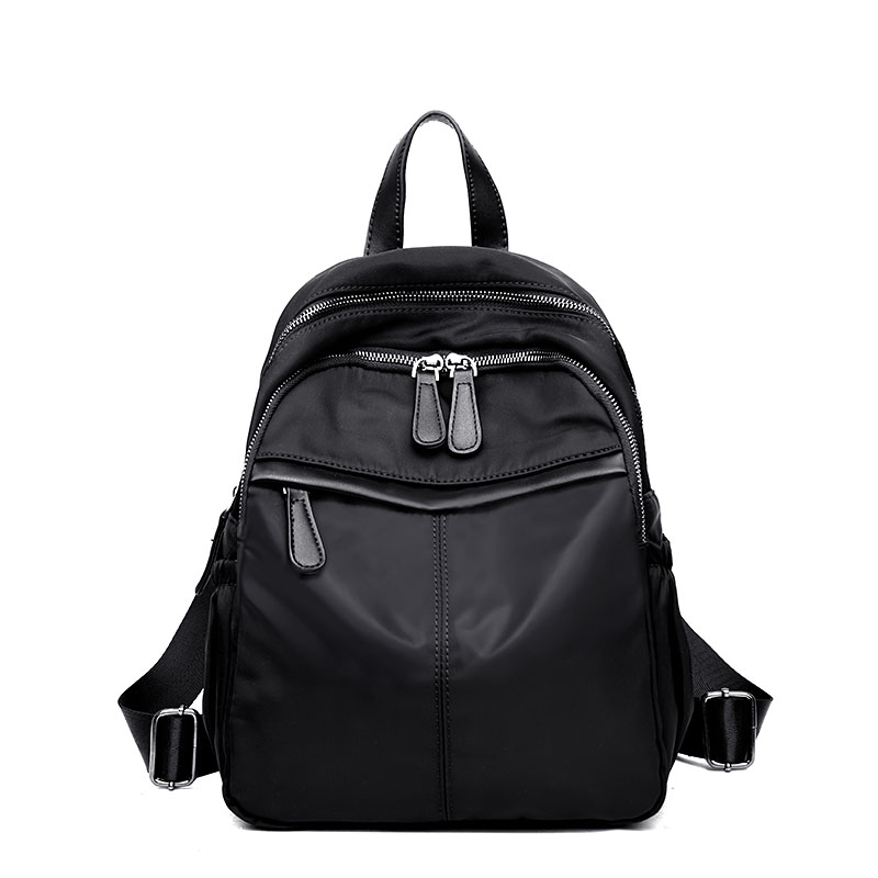 Fashion Backpacks For Travel bag Black Mochilas Hot Sale Women Young Ladies Backpack Girl Student School Bag Nylon bag ...