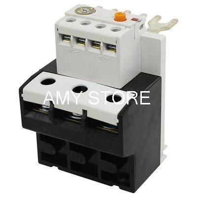 Adjustable Three Phase 63-85A Setting Range Thermal Overload Relay overcurrent protection three phase 2no 2nc thermal overload relay 1 1 6a