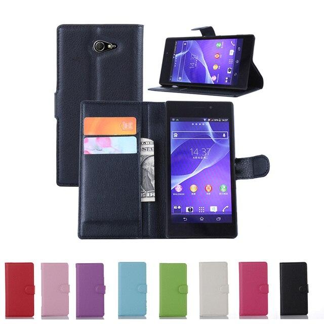 Telefon Fall für coque Sony Xperia M2 Fall S50H D2302 D2303 Abdeckung für Sony Xperia M2 m 2 für Sony m2 m 2 Aqua Flip Fall Abdeckung Caso