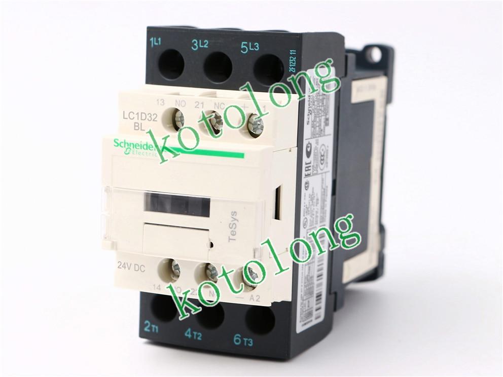 DC Contactor LC1D32 LC1-D32 LC1D32BL LC1-D32BL 24VDC LC1D32DL LC1-D32DL 42VDC LC1D32EL LC1-D32EL 48VDC LC1D32FL LC1-D32FL 110VDC ac contactor lc1d80004 lc1 d80004 lc1d80004w7 lc1 d80004w7 277v lc1d80004v7 lc1 d80004v7 400v