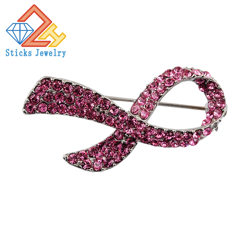 Women of color breast cancer pin