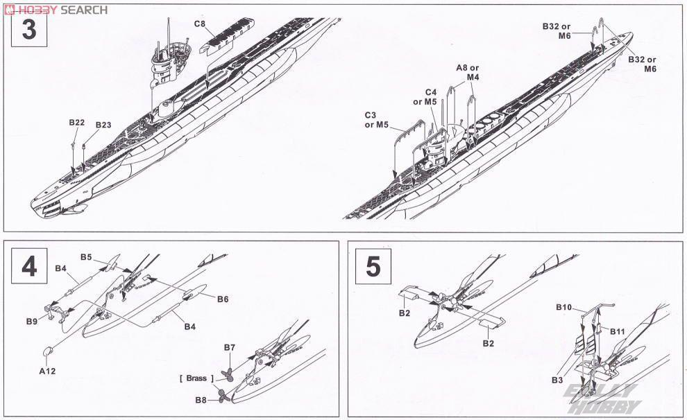 afv club 1 350 se73505 german u boat type vii d minenleger submarine
