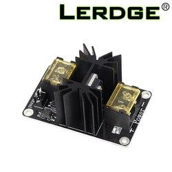 LERDGE 3D yazıcı parçası eklenti isıtmalı yatak güç genişleme modülü yüksek güç modülü genişletme kartı kablo ile