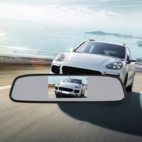 4 3 TFT LCD Monitor Mirror Car Reverse Rear View Camera ME3L