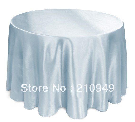 free shipping 10 pcs 108in round cheap round tablecloths wedding table cloths event table linens
