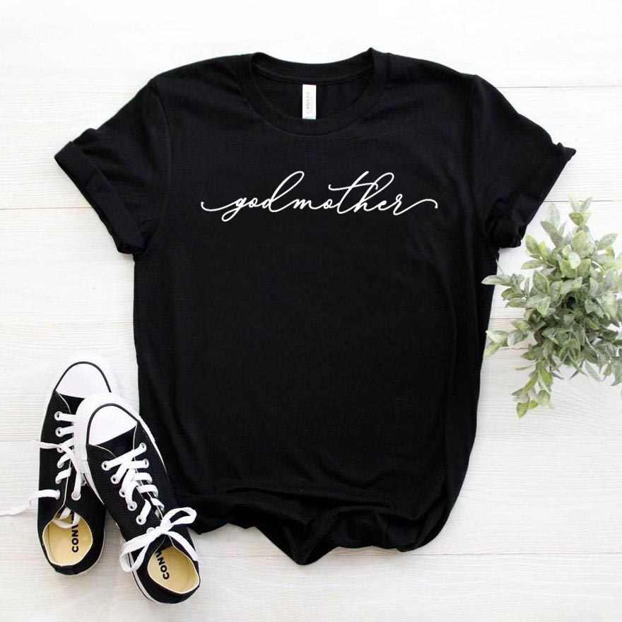 Godmother Women tshirt Cotton Casual Funny t shirt Gift For Lady Yong Girl Top Tee 6 Color Drop Ship S-795