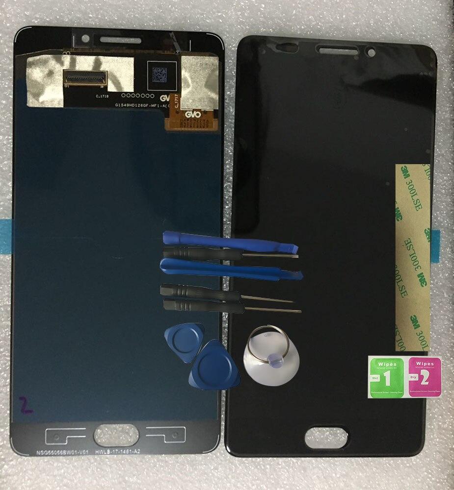 Original Nouveau Pour Vernee Thor Plus 1280*720 5.5 pouces Écran LCD + Écran Tactile Assemblée Digitzer Réparation Panneau verre