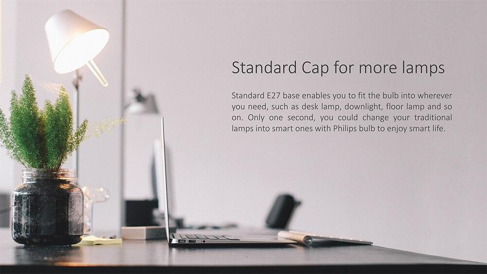 Xiaomi Philips Smart WiFi LED Bulb White E27 6