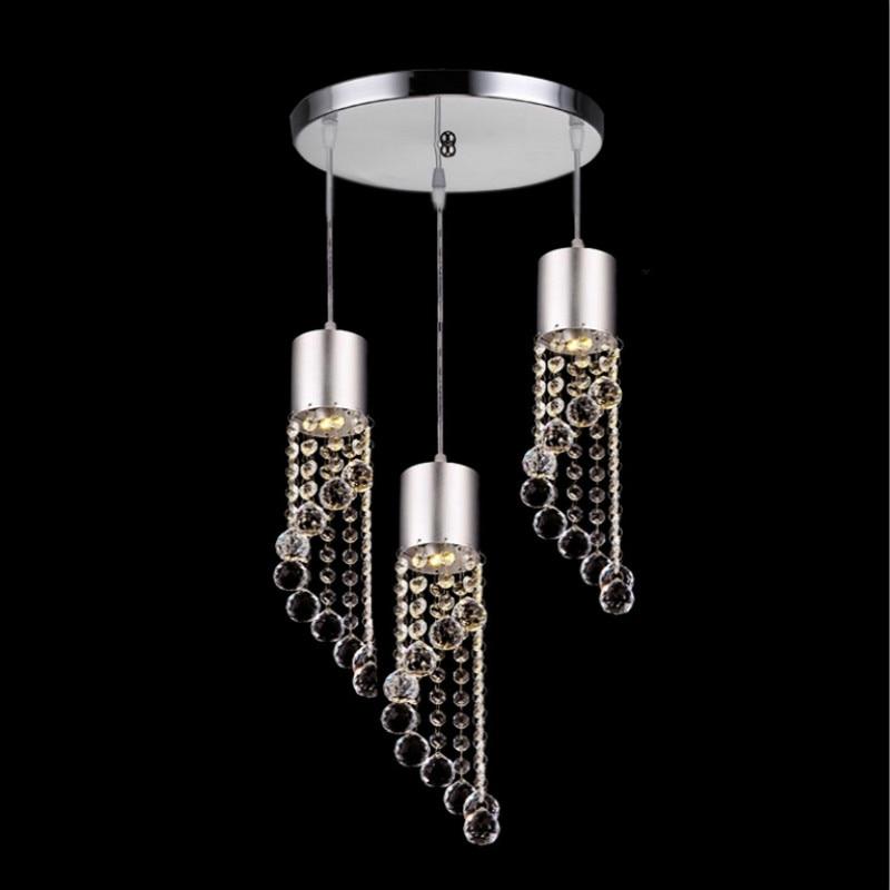 kitchen single pendant light crystal pendant lamp for dining room led bar pendant lights study room hanging lamp crystal pendant