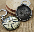 [Agents of SHIELD] Keychain Marvel Hot TV Play Logo Carving Eagle Avengers Accessories Key Ring Men Boy Super Hero Gift Hot Sale