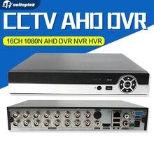 16CH 1080N CCTV AHD DVR Hybride NVR 8Ch 1080 P 5MP NVR P2P Nuage Pour Analogique AHD IP Caméra de Sécurité P2P Cloud Onvif