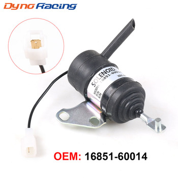 16851-60014 16851-60010 12V Stop Solenoid สำหรับ Kubota RTV900R RTV900S RTV900T RTV900W การใช้ปิดปิด solenoid