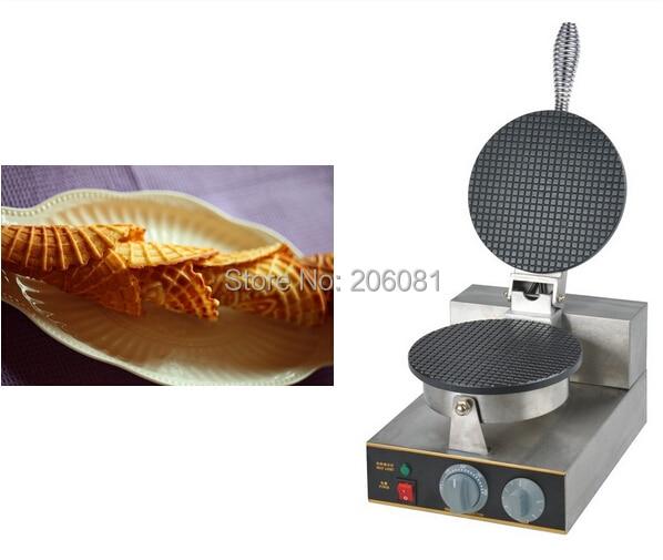 где купить 220V Electric Non-stick Single Head ice cream waffle cone baker/waffle  cake Ice Cream Cone Maker /CONE SHAPE WAFFLE BAKER/ по лучшей цене