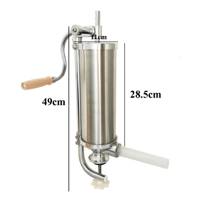 2.5L Vertical Sausage Stuffer Fast Delivery-hand Dausage Maker Manual Sausage Filler Machine,Sausage Making Machine