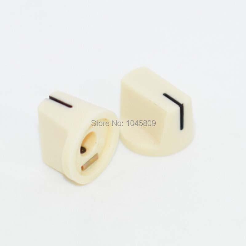 30pcs / Lot Davies 1510 Butoane pointerie albe pentru efecte de chitară Butoane pedale (SHIPPING GRATUIT)