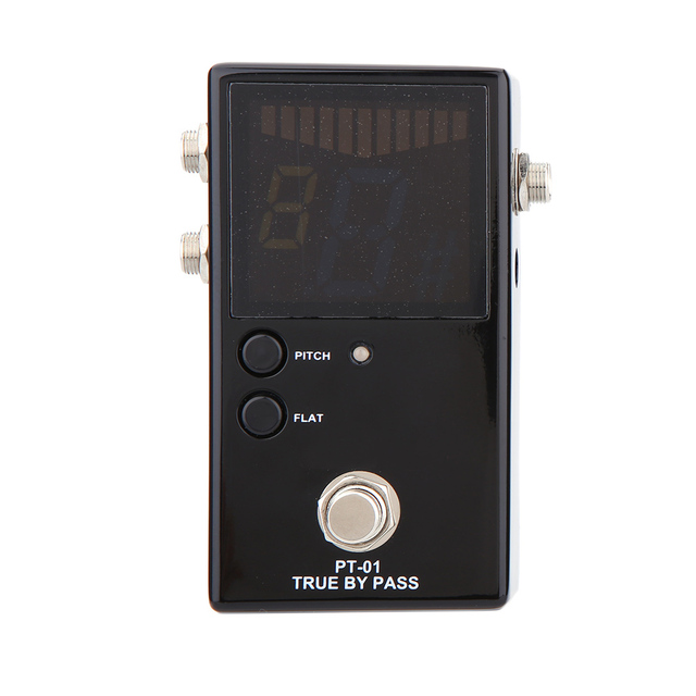 Portable Guitar Pedal Tuner