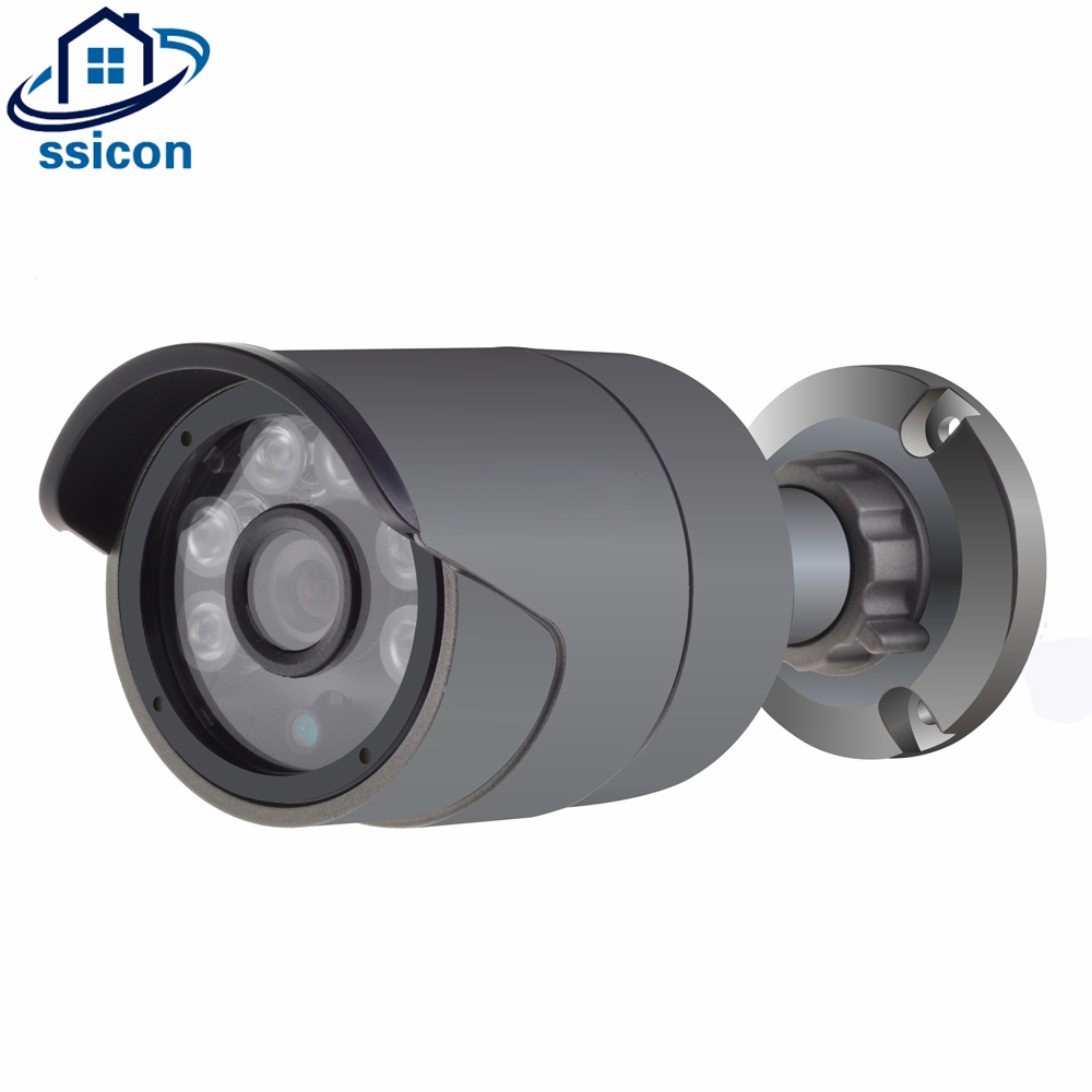 SSICON 1080P Sony IMX322 Outdoor Bullet Security POE IP Camera ONVIF IP66 Waterproof 3.6mm Lens Night Vision POE CCTV Camera original hikvision 1080p waterproof bullet ip camera ds 2cd1021 i camera 2 megapixel cmos cctv ip security camera poe outdoor