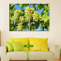 Зеленый виноград Печать холст стены Картины украшения Maison дома картина маслом Книги по искусству фотографии Модульная картина стены Книги ...