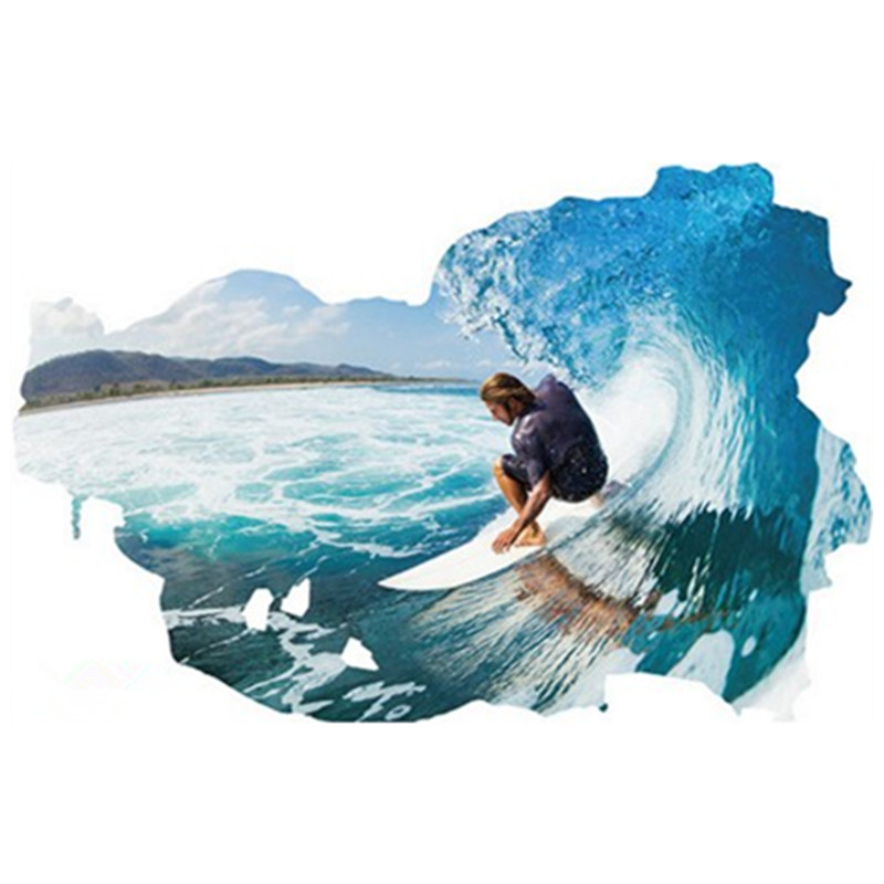 Surf Bathroom Decor