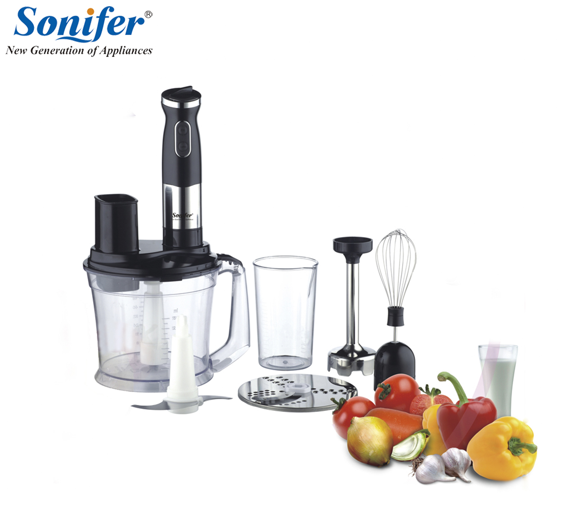 Multifunction 5 speed electric food blender mixer kitchen hand blender egg beater vegetable Meat Grinder stand blend Sonifer hand blender haier hhb 111 electric blender mixer grinder for kitchen handheld stainless steel 12 speed