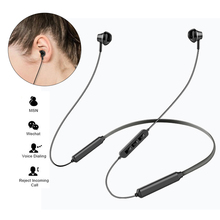M05 Bluetooth Headphone Wireless Earphone Bluetooth Headset Sport Hanging Neck with Microphone for android iphone xiaomi цена
