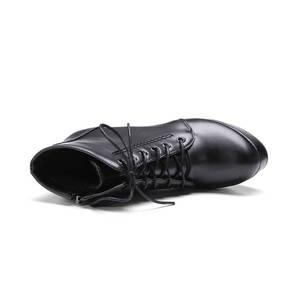 Image 5 - Morazora Groothandel Big Size 34 48 Enkellaars Voor Vrouwen Rits Mode Hoge Hakken Laarzen Herfst Winter Platform Laarzen vrouwelijke