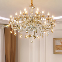 LED Lampadari di Cristallo Soggiorno Lampada Della Decorazione di Cristallo di Lusso Lampadario A Soffitto Lampada A Sospensione Cucina di Casa Apparecchio di Illuminazione