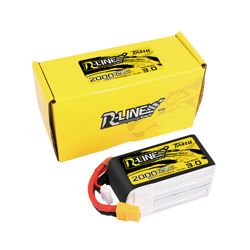 Image 5 - New Tattu R line 120C V3 1300/1550/1800/2000mAh 120C 4S 14.8V Lipo Battery with XT60 Plug for FPV Racing Drone RC Quadcopter-in Parts & Accessories from Toys & Hobbies