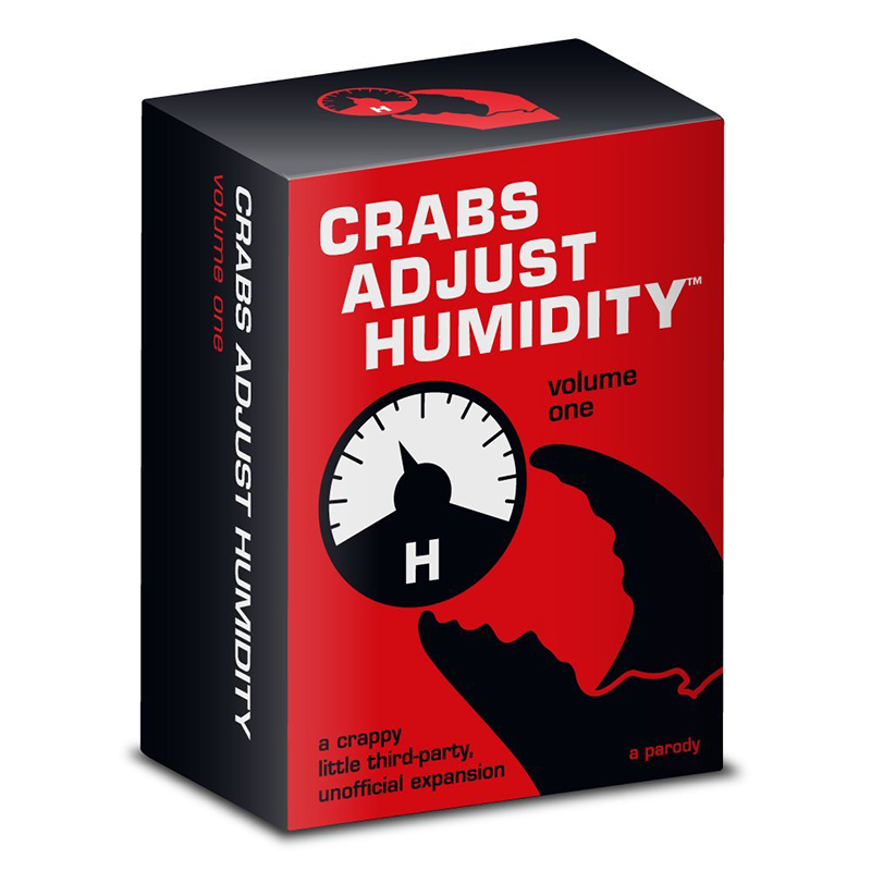 Best buy ) }}Crabs Adjust Humidity Volume Five Against Humanity Card Board