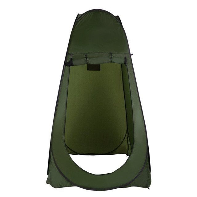 Portable Outdoor Pop Up Tent C&ing Shower Bathroom Privacy Toilet Changing Room Shelter Single Moving Folding  sc 1 st  AliExpress.com & Portable Outdoor Pop Up Tent Camping Shower Bathroom Privacy ...