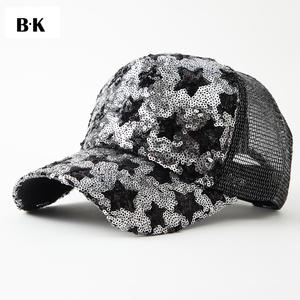 7607e74563a BARRYKONE Summer Mesh Baseball Cap Snapback Gorras Sun Hats