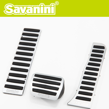 Savanini new brand Car Pedal Kit With No Screw For VW Golf6/Tiguan/Touran/Magotan/Sagitar/CC/EOS/Scirocco AT fit for left hand