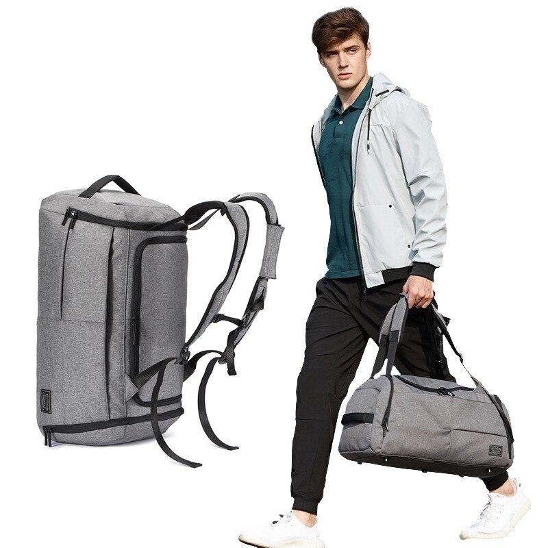 Sport Fitness sac hommes Sport sac à main Gym multifonction fourre-tout pour chaussures stockage femme Yoga extérieur sacs voyage sac à dos Anti-vol