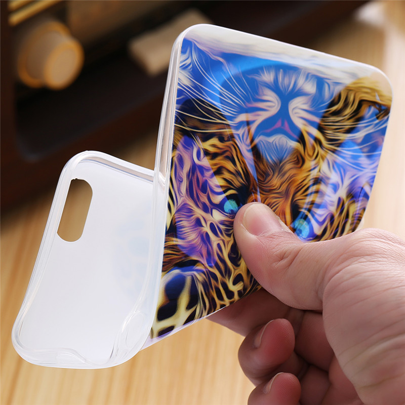 Blue Ray Patterned Soft silicone Case For iPhone 5s, 5, SE, 6s, 6, 7, 8 2