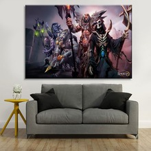 Modern Home Decorative HD Printing Type Artwork 1 Piece Style Fantasy Game Runescape Canvas Painting For Living Room Wall