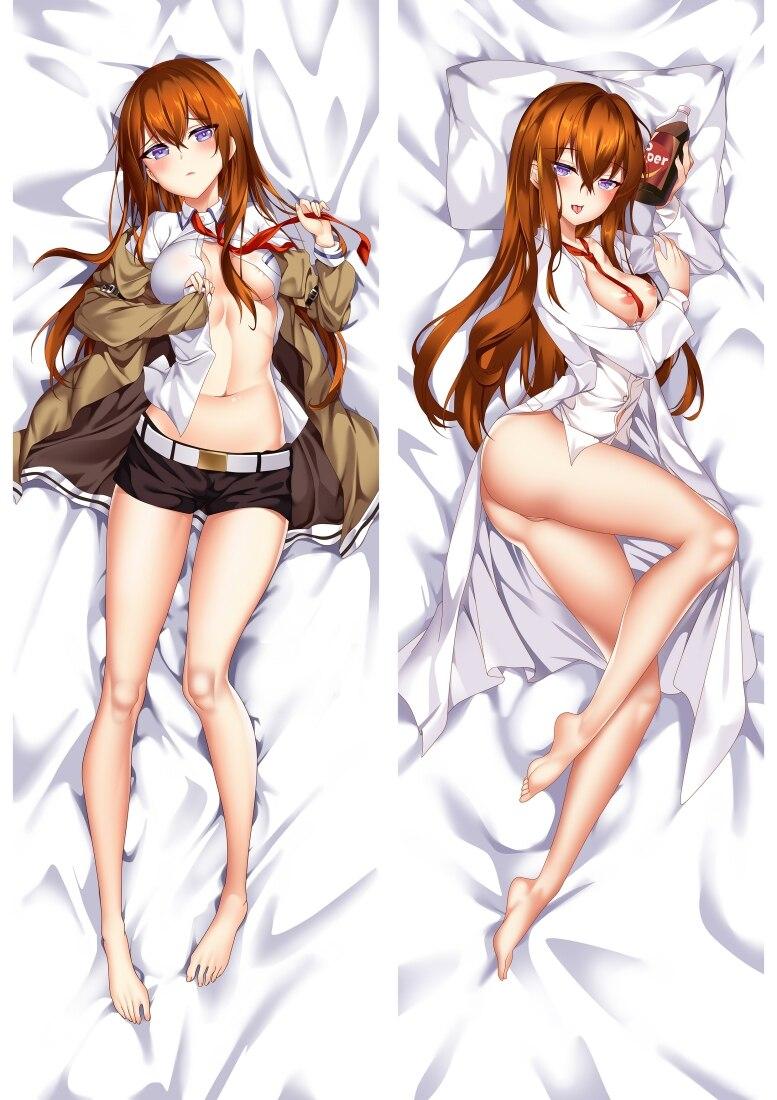 Anime Steins;Gate Makise Kurisu Home Decor Pillow Hugging Body Cushion Cute Gift