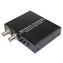 Conversor hdmi para dupla sdi suporte 1080p 1080i hd completo hdmi para 2 portas SD SDI/HD SDI/3g sdi bnc scaler adaptador