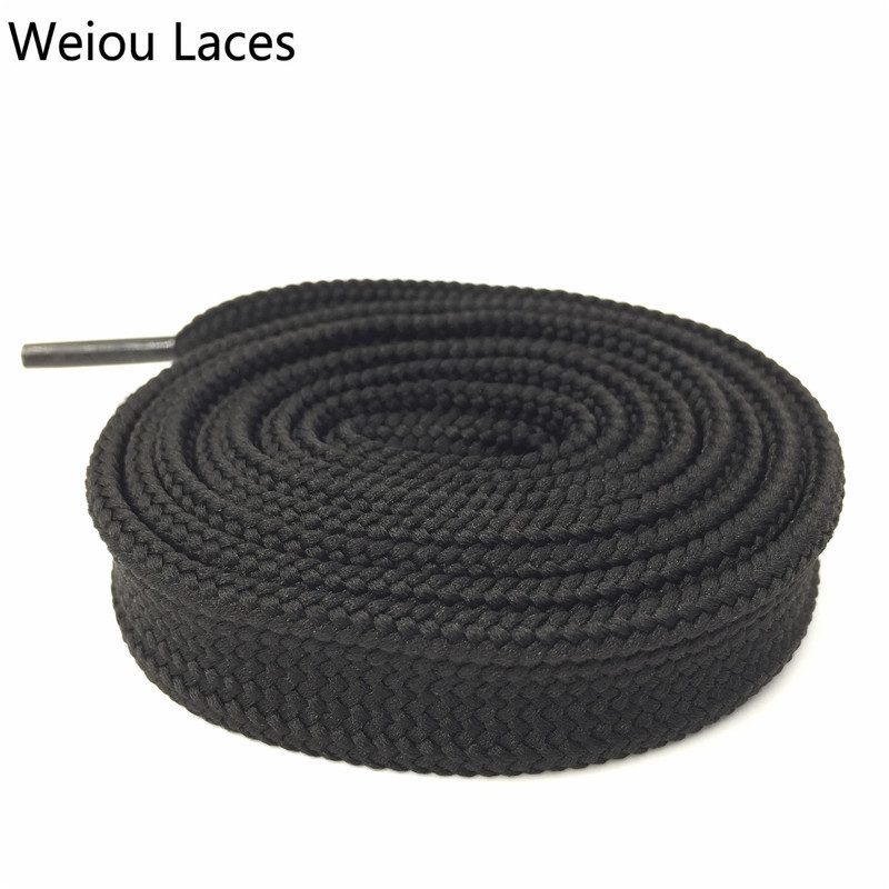 Weiou Heavy Duty Boot Laces Sneaker Colorful Athletic Designer Flat Wide Shoes Strings 1.8cm/0.7 Fat Shoelaces For Lady WomanWeiou Heavy Duty Boot Laces Sneaker Colorful Athletic Designer Flat Wide Shoes Strings 1.8cm/0.7 Fat Shoelaces For Lady Woman