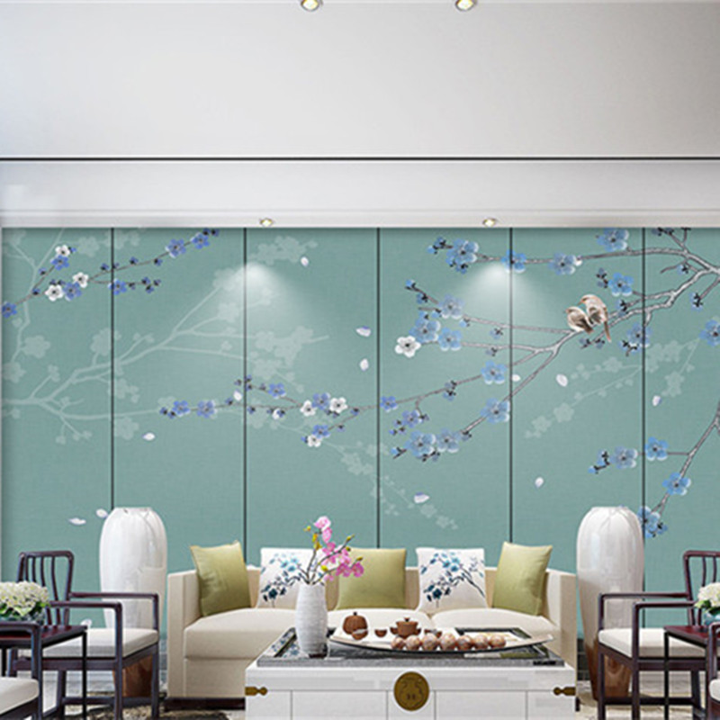 Custom 3D Murals Birds Chinese Style Wall Papers for Walls 3D Photo Wallpapers For Living Room Natural Trees Home Decor FlowersCustom 3D Murals Birds Chinese Style Wall Papers for Walls 3D Photo Wallpapers For Living Room Natural Trees Home Decor Flowers