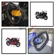 Agarradero de pasajero para motocicleta, manijas de barra de agarre para tanque, reposabrazos para Suzuki GSXR 600 2004   2013 2005 2006 2007