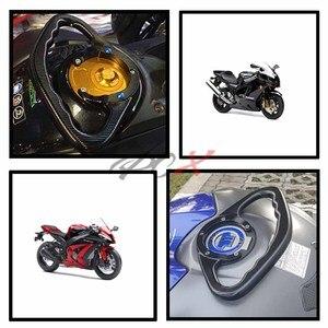 Image 1 - Motorcycle Passenger Handgrips Hand Grip Tank Grab Bar Handles Armrest For Suzuki GSXR 600 2004   2013 2005 2006 2007