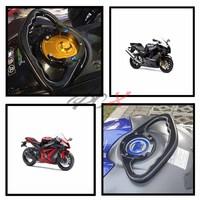 Motorcycle Passenger Handgrips Hand Grip Tank Grab Bar Handles Armrest For Suzuki GSXR 600 2004 2013 2005 2006 2007