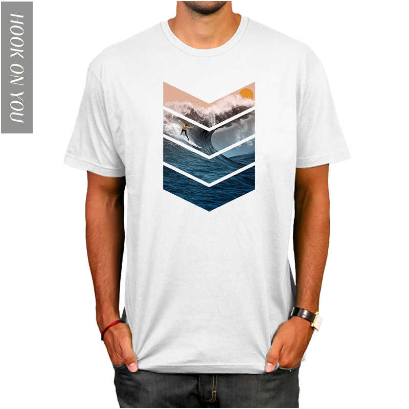 2f2019acb Detail Feedback Questions about 2018 SURFER WAVES ART MENS T SHIRT ...