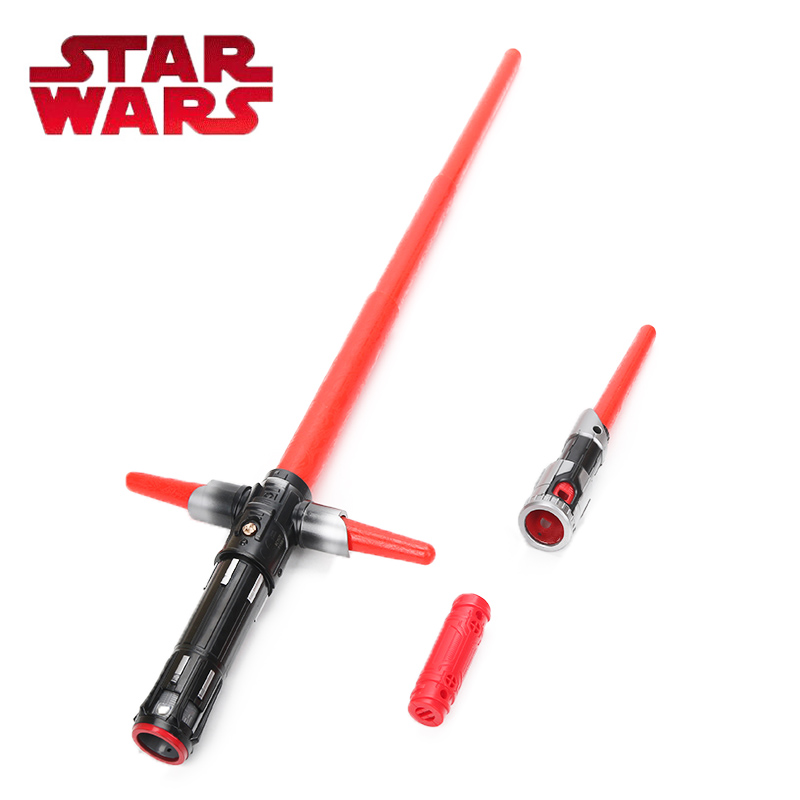 2018 Star Wars Toy E8 Series 80cm Bladebuilders Kylo Ren Deluxe Electronic Lightsaber Collection Model Cosplay Toys